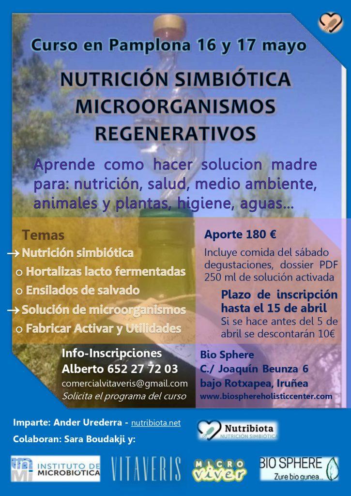 Curso en Pamplona @ Bio Sphere | Pamplona | Navarra | España
